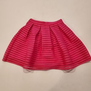 NWT Forever 21 pink lace skirt
